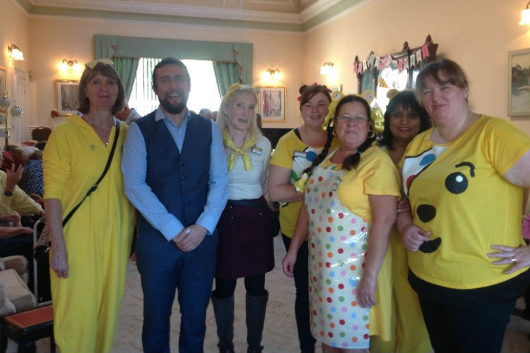 Children in Need at James Hirons